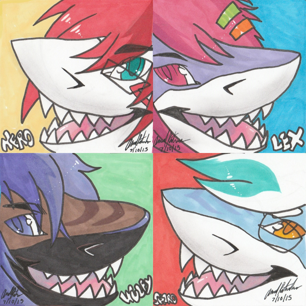 Shark Week Icons for some buds