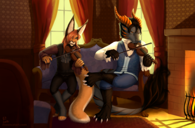 [COMM] Fiddlers on the Couch