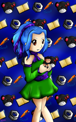levy and her chibi gajeel
