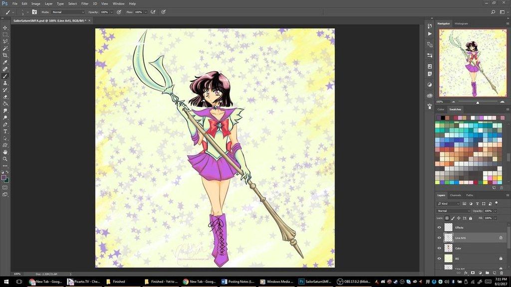Sailor Moon: Sailor Saturn pt3 -Preview-