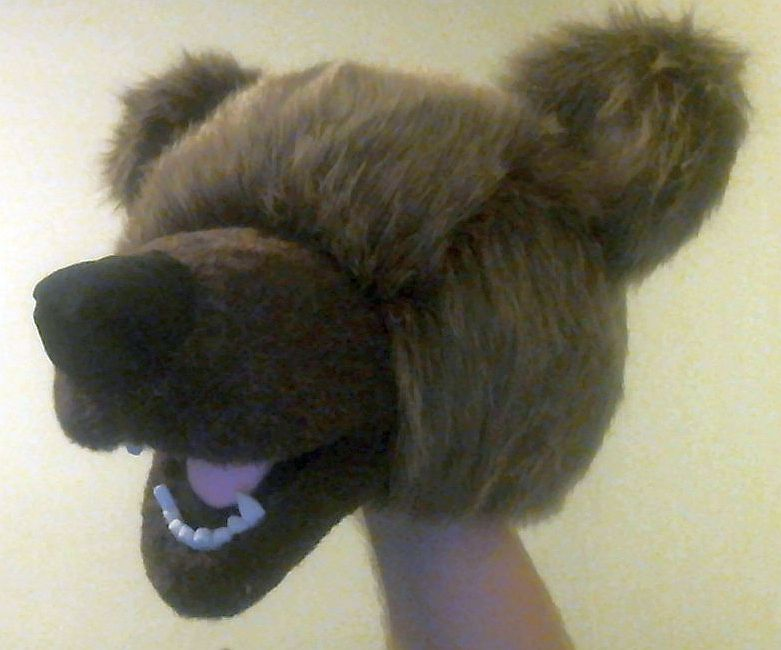 Bear Puppet 03/13/15 #3