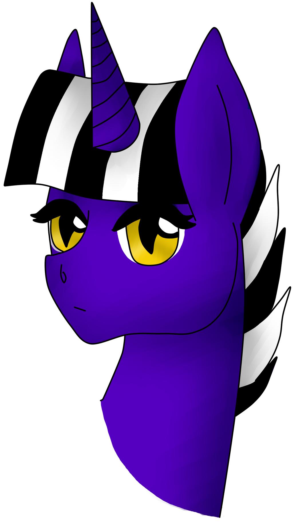 Pony doodle headshot