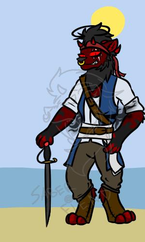 Pirate Veltana