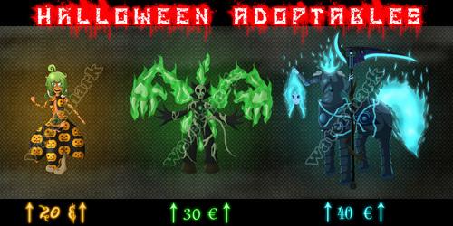 Halloween adoptables