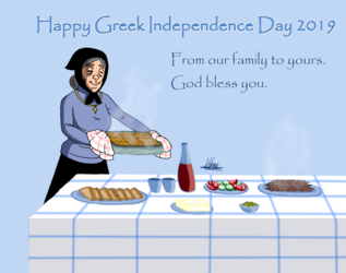 Happy Greek Independence Day 2019