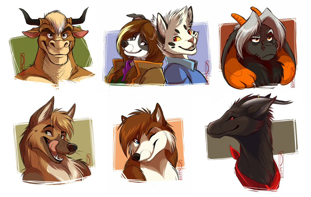 Featured image: Co-Headshot Sketch Commission: Batch #1