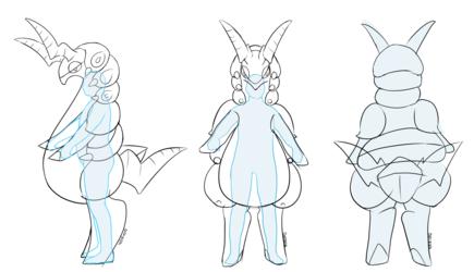 β Scolipede suit concept