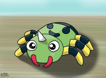 Sparkly-Eyed Spinarak