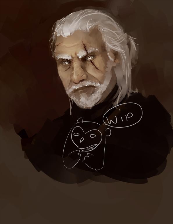 Portfolio piece: Witcher [wip]