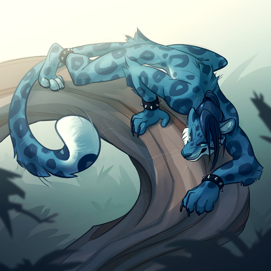 bluepanther commission