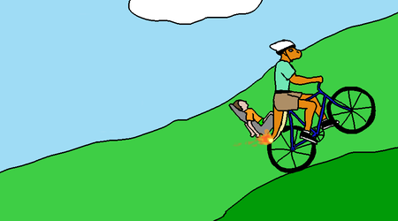 Happy Wheels Title Card: Irresponsible Charem