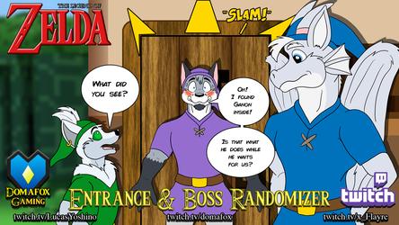 GAME STREAM - Zelda Randomizer w Lucas and Flayre