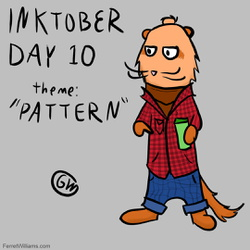 "Inktober Day 10: ""Pattern"""