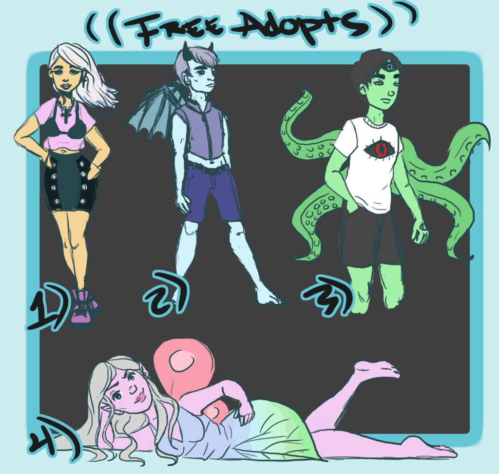 Free Sketch Adopts! [CLOSED]