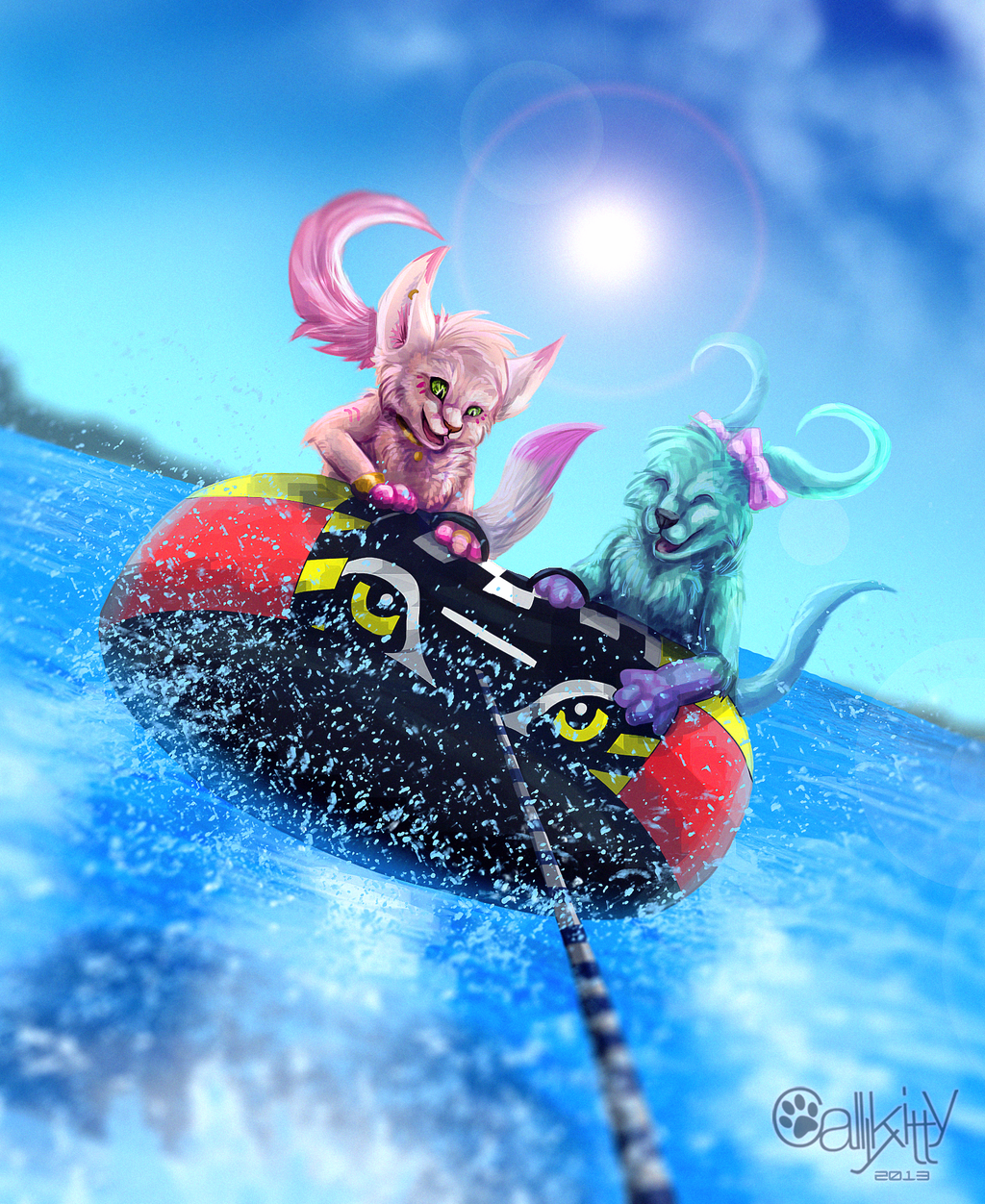 Most recent image: Tubing