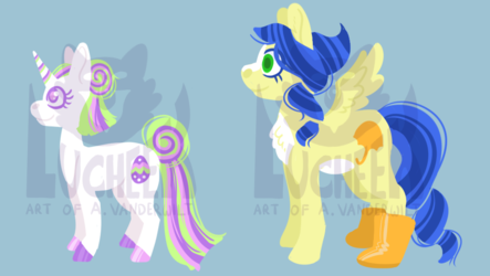 Easter Pony Adoptables