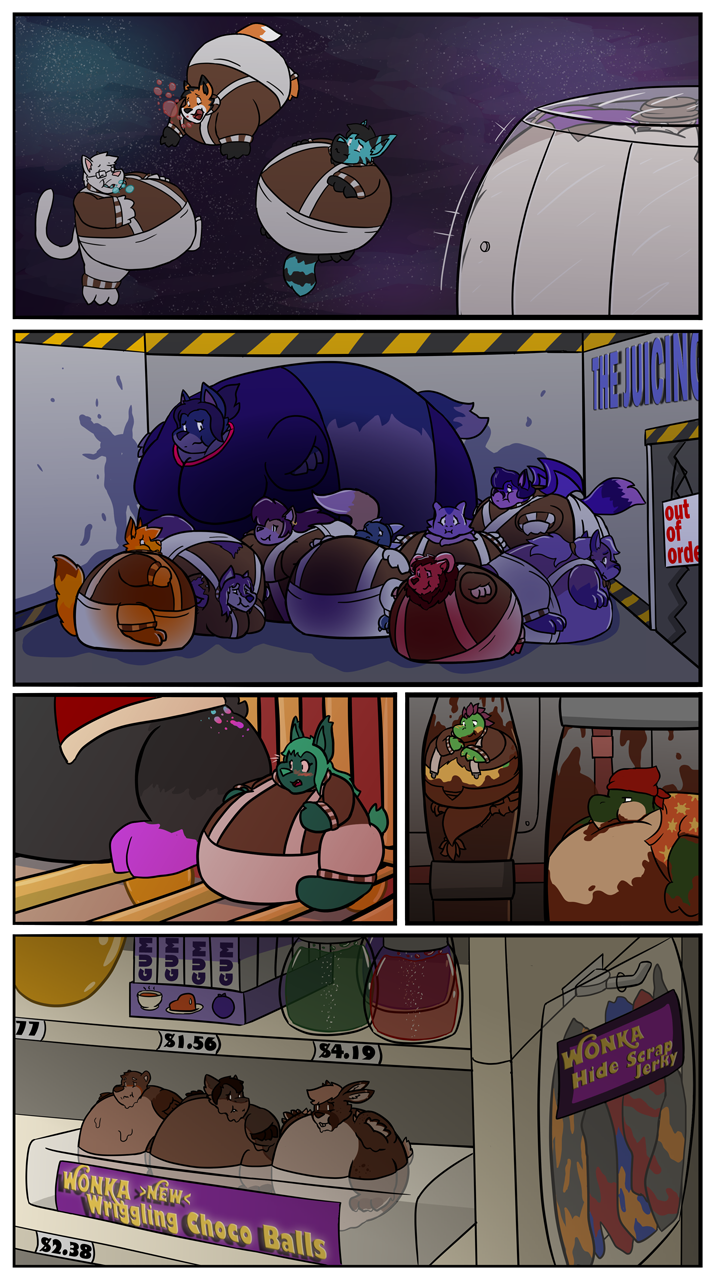 [YCH COMIC] The Chocolate Factory - Page 14