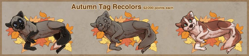 Most recent image: Autumn Tag Recolors!