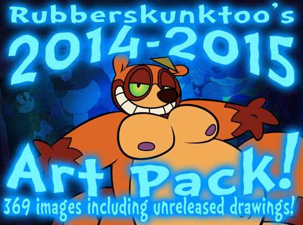 Art pack available! Two years of drawings!