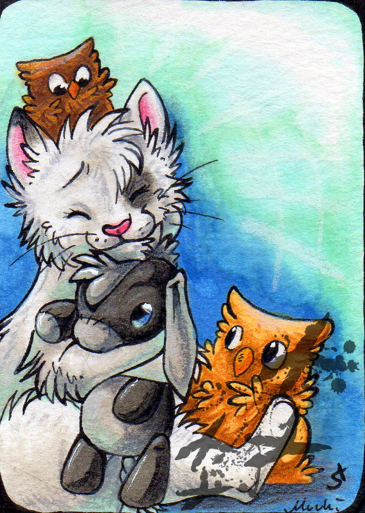 Muukster collab ACEO
