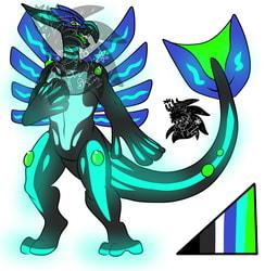 Male bioluminescence Lugia +Custom+