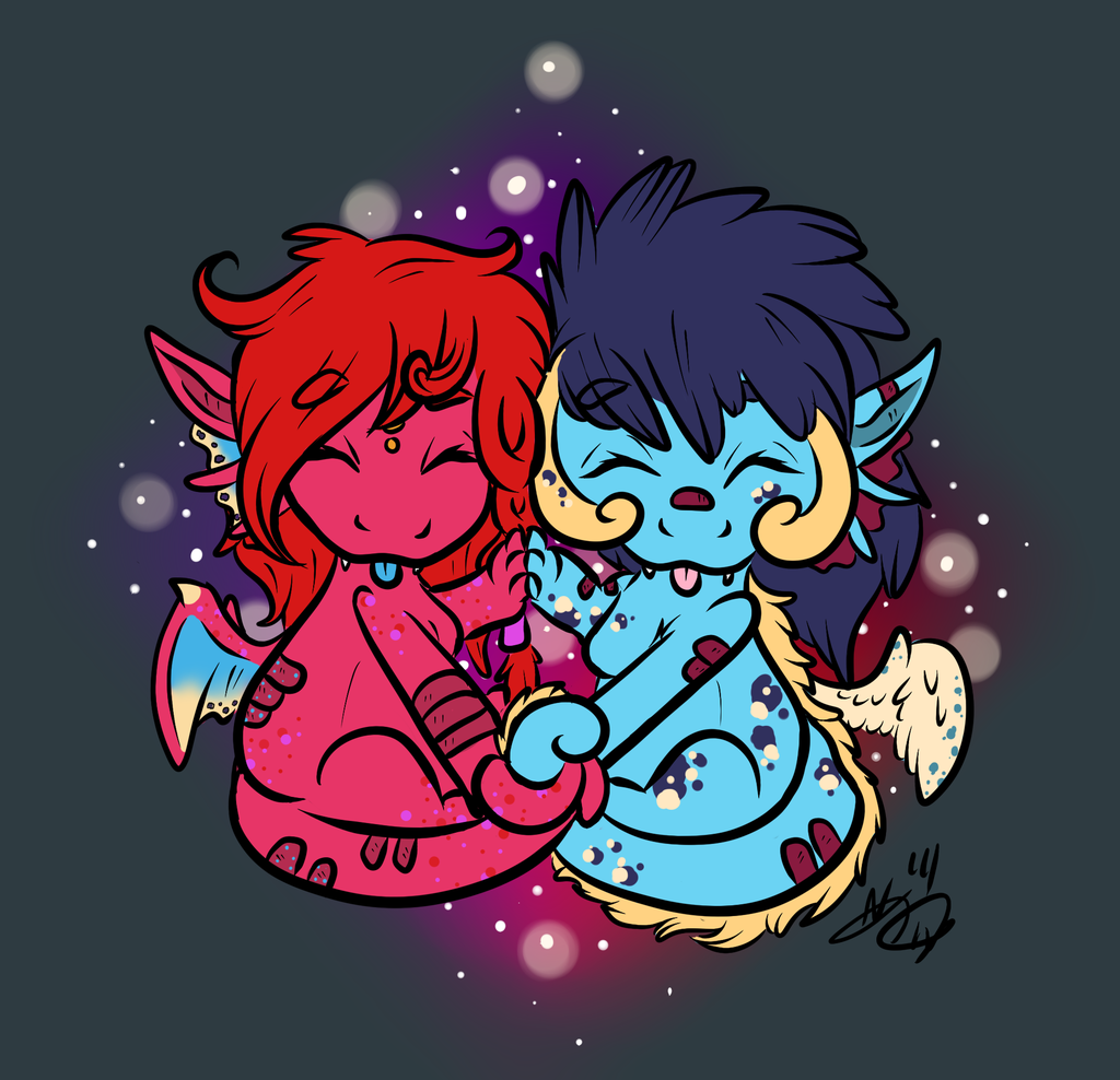 My two dragoness ~