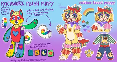 Rainbow Puppy Collab Adopts