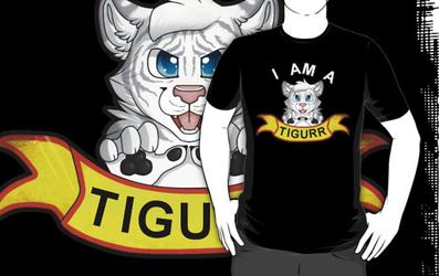 I Am A white Tigurr