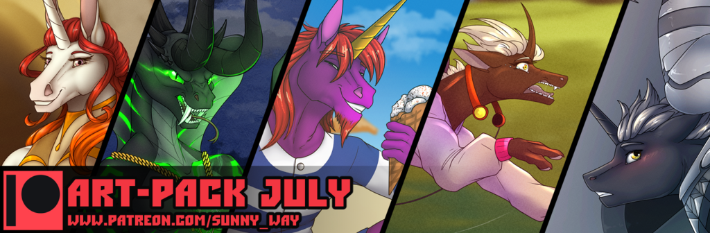 Art-Pack July + Exclusive
