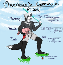 Commission Prices!