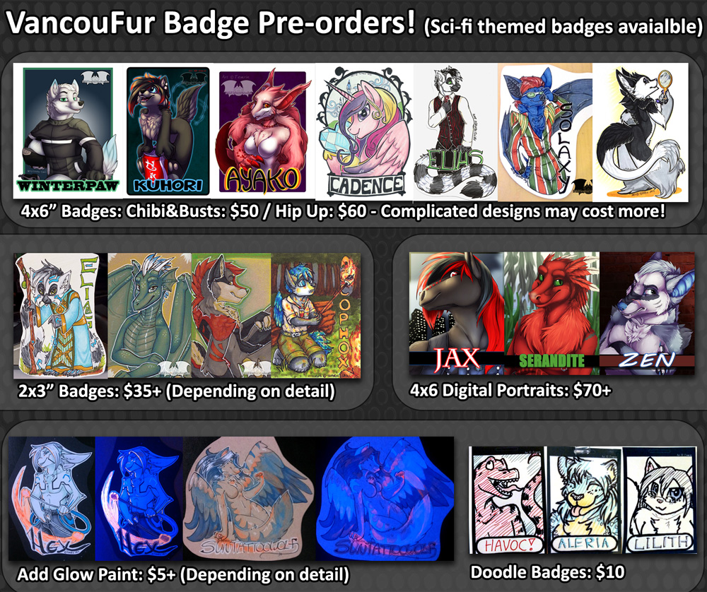 VancouFur Pre-orders are now OPEN!