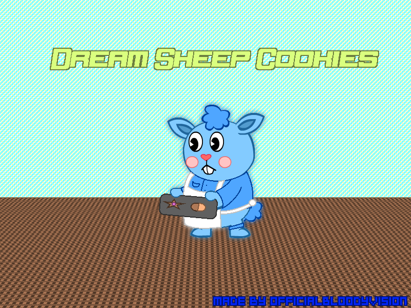 Dream Sheep Cookies