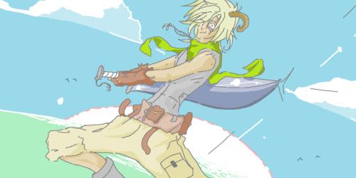 Sword guy color