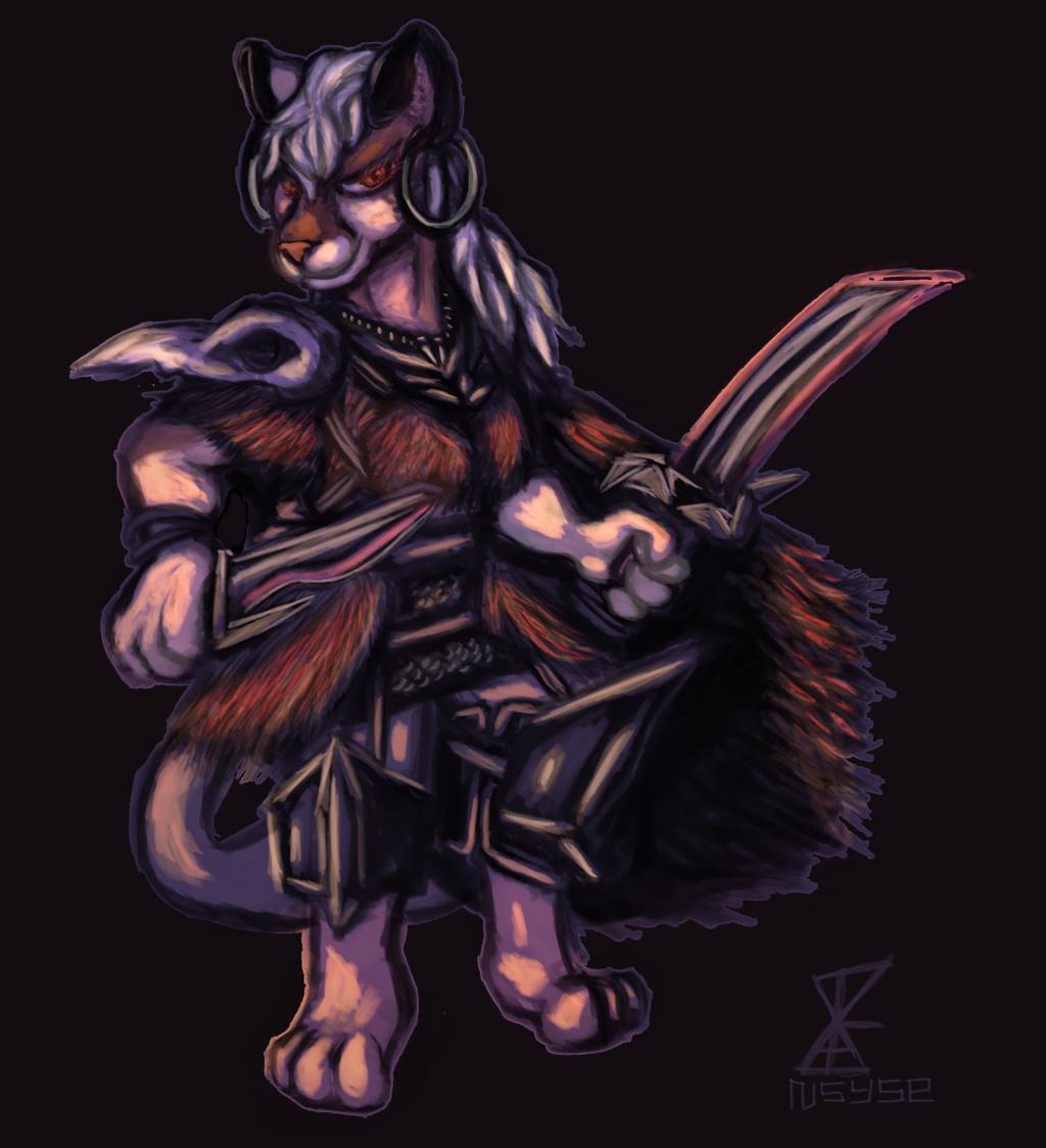 Barbarian Cat