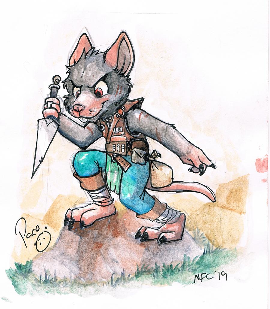 Flicker The Rat
