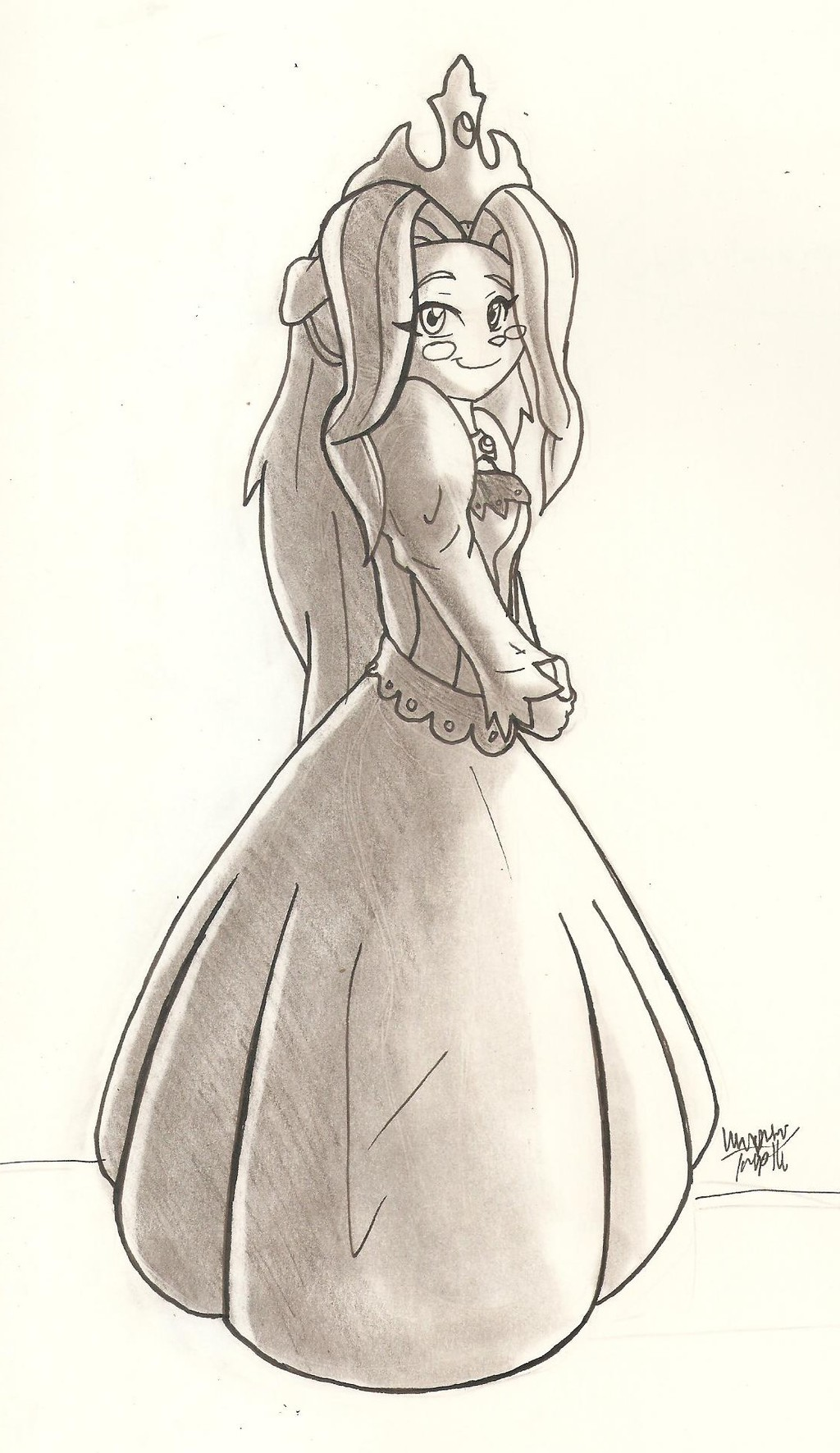 Solatorobo Princess theria