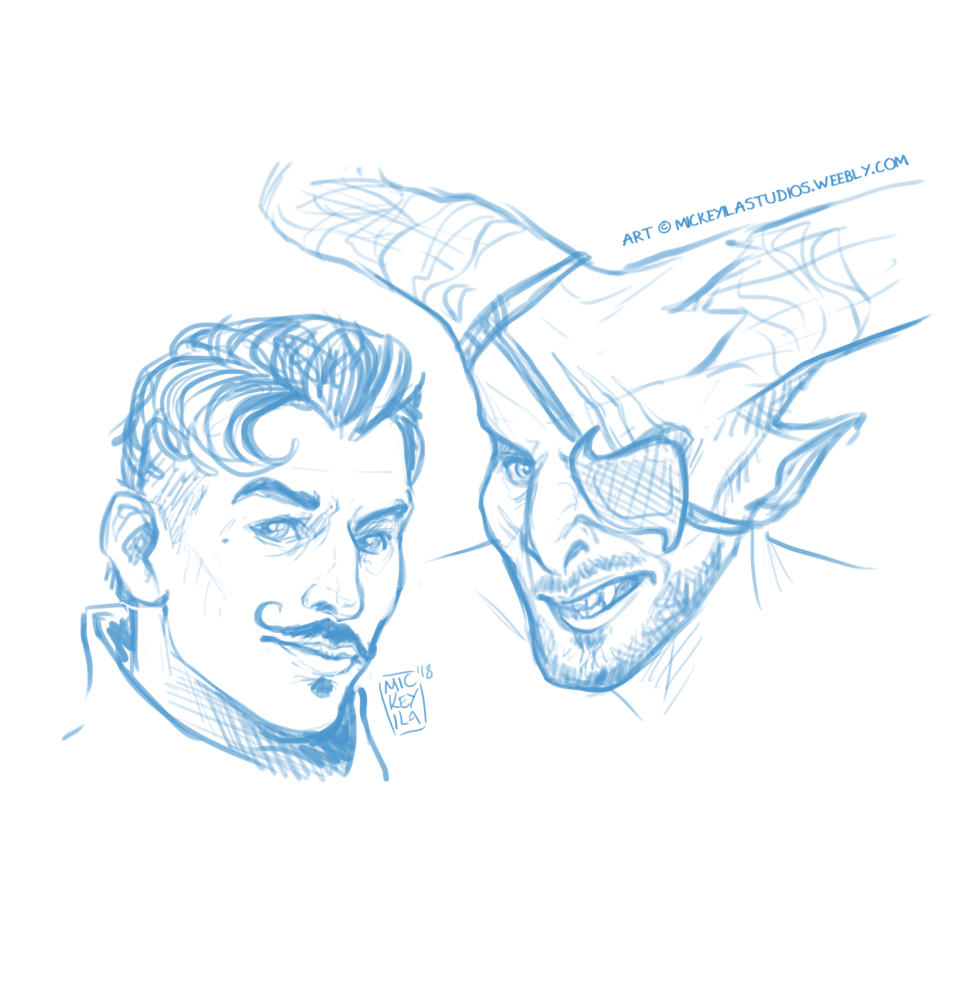 Dorian and Iron Bull - Cooldown