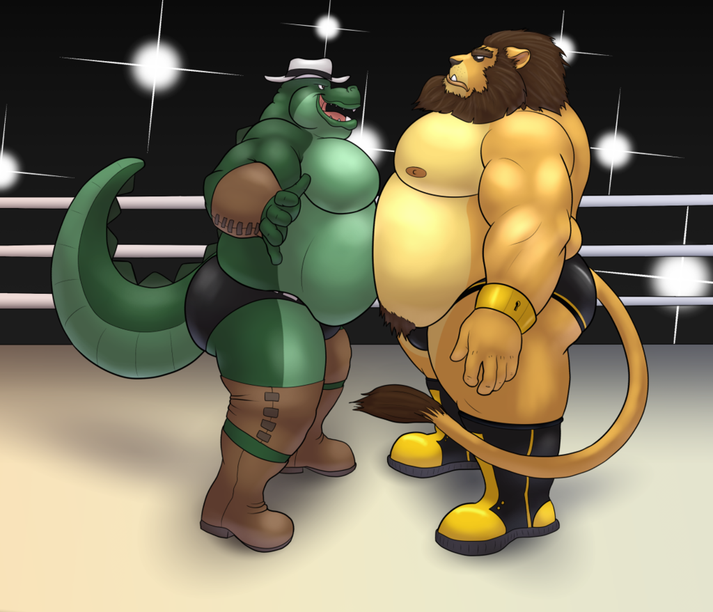 [Commission for Hound] Tex vs. the King!