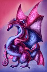 Bi Pride Dragon