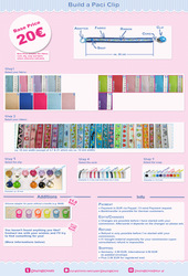Build your own Paci ribbon (Price Guide )