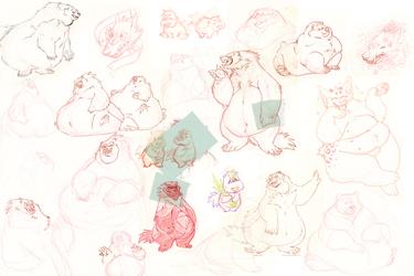 Mostly musties sketch dump
