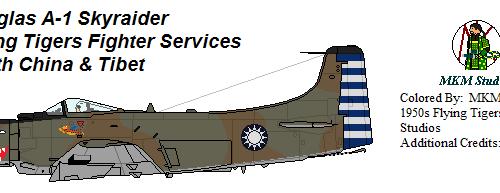 Flying Tiger Skyraider