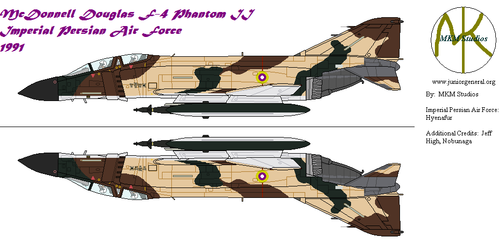 Imperial Persian Air Force F-4 Phantom