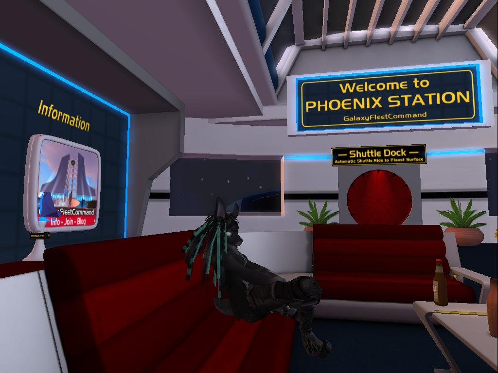 Waiting to join Starfleet
