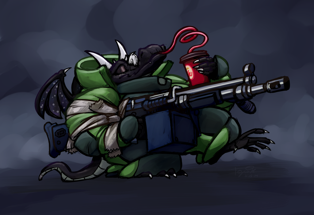 Kobold with Gun #1,457