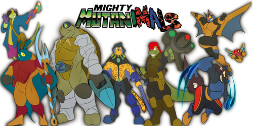 THE MIGHTY MUTANIMALS ARE BACK!