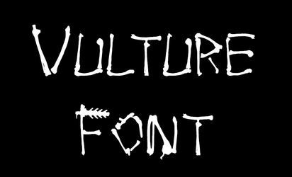 Vulture Font
