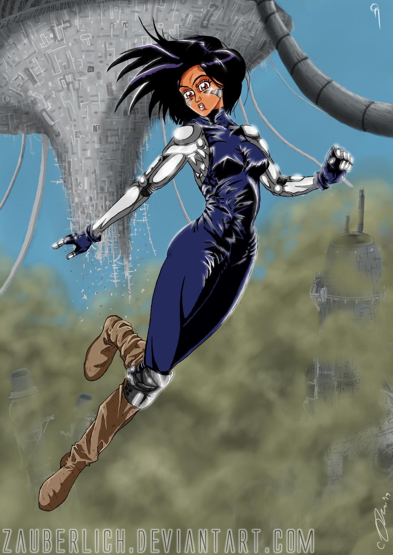 Most recent image: Battle Angel Alita