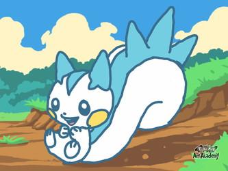 Pokemon Art Academy: Pachirisu