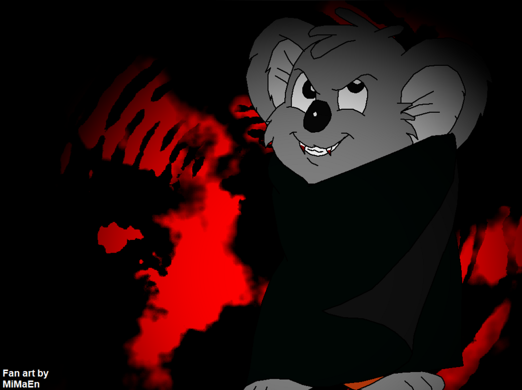 Most recent image: Blinky Bill after dark